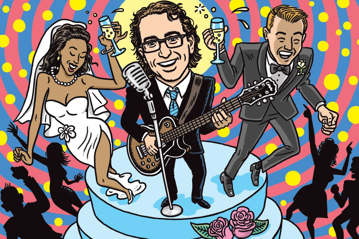 GQ magazine interviews the Wedding Band